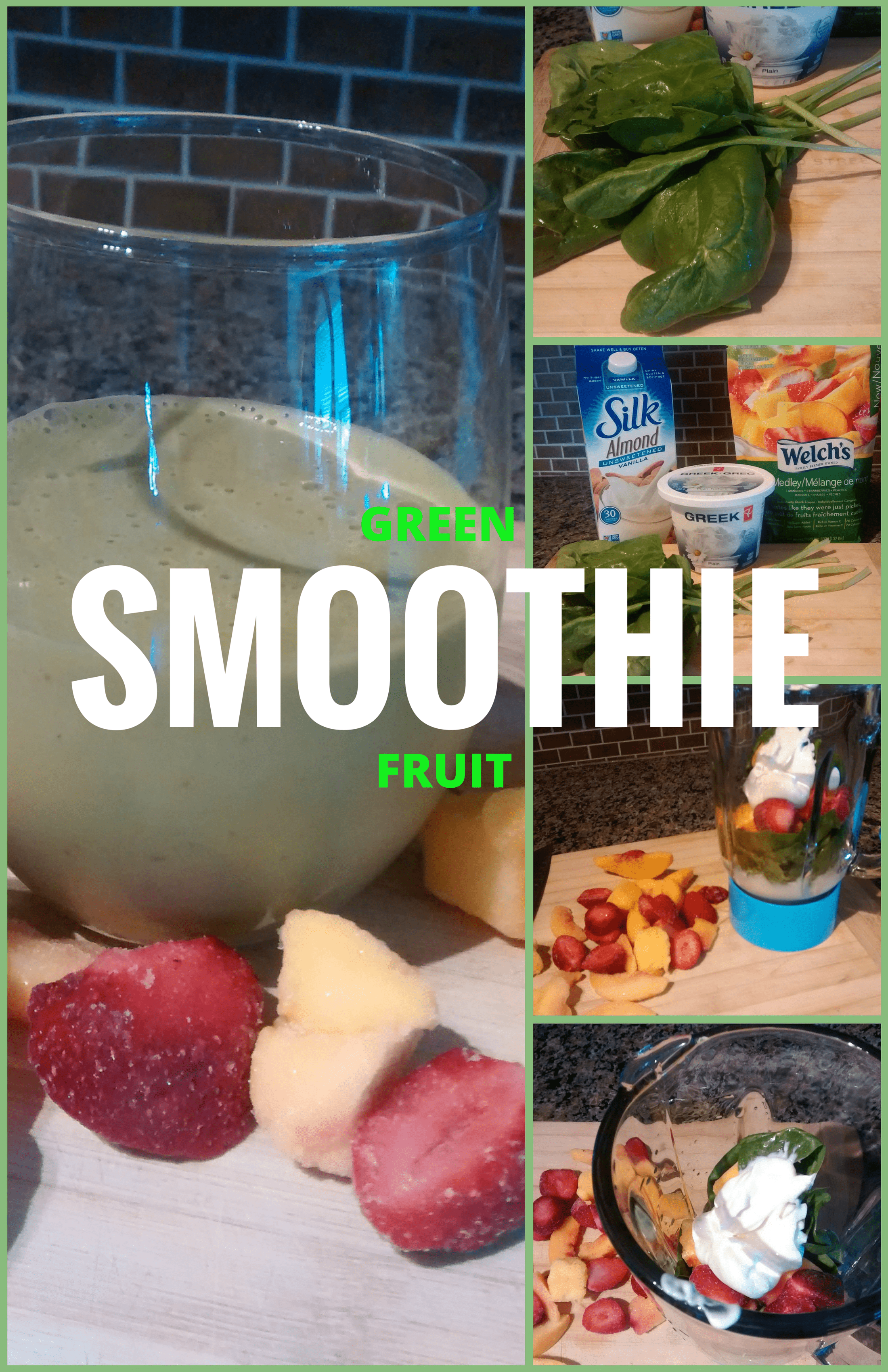 Green Fruit Smoothie Recipe