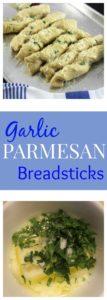 Garlic-Parmesan-Breadsticks
