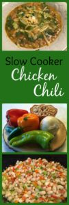 A delicious Chicken Chili that you set and forget!! Ready when you get home to go straight on the table for a hearty Fall meal!