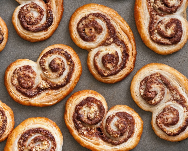 Nutella-Palmiers