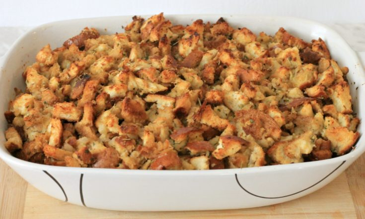 Easy Traditional Stuffing Recipe for the Holidays
