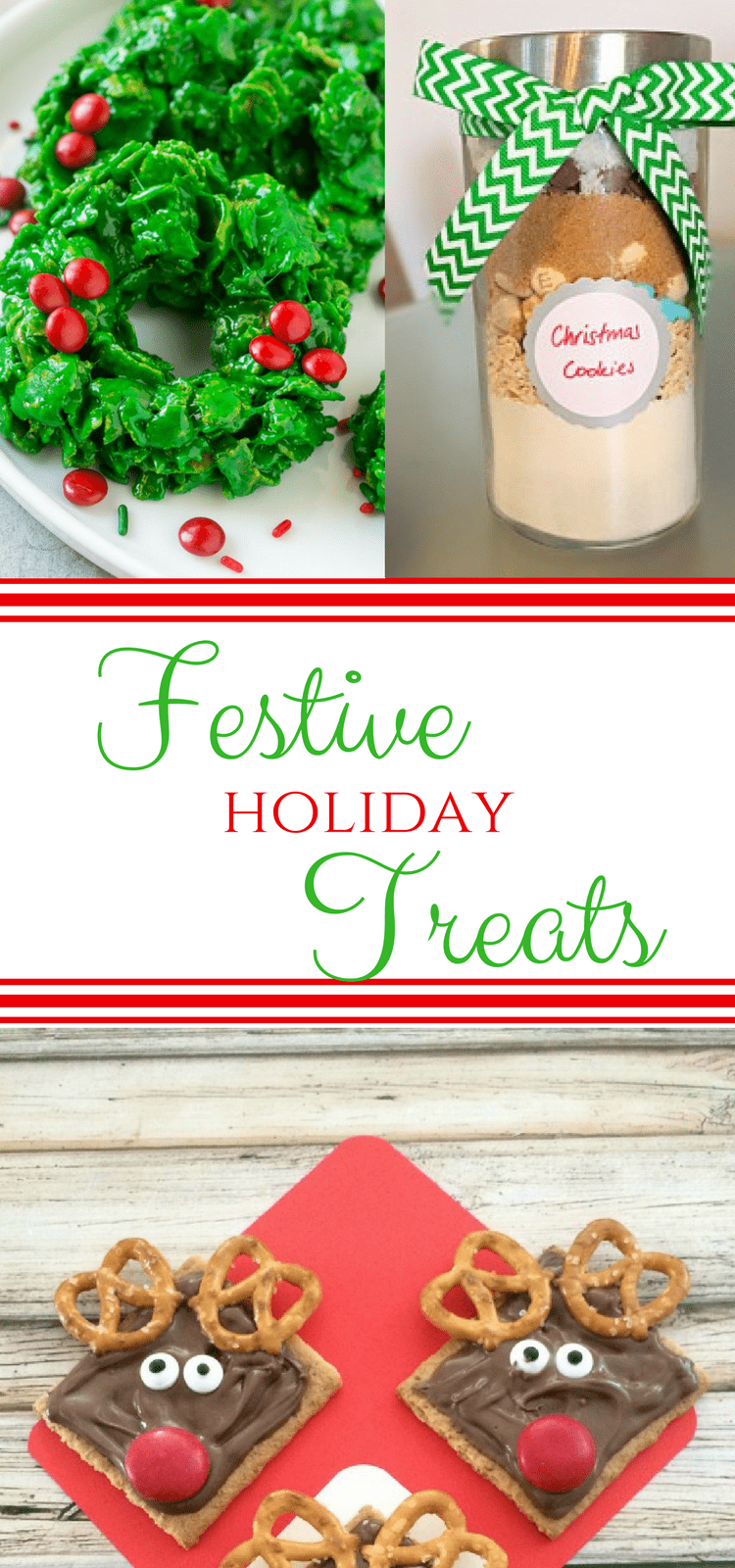 Looking for the perfect Holiday Treats ? Look no further than this fun round-up of easy to make and super festive goodies that is sure to impress everyone! #CookieSwap #ChristmasCookies #HolidayTreats
