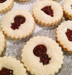 Lintz-Cookies