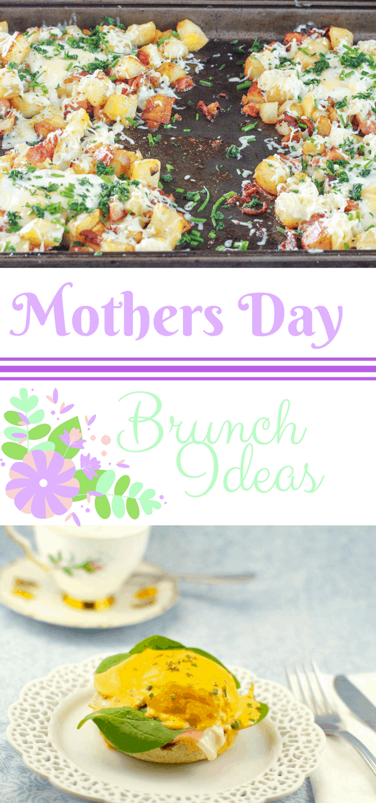 Easy Mothers Day Brunch Recipes - This round-up features everything you need to make sure mom has a special day! #MothersDay #BrunchRecipes #EasyBrunchIdeas