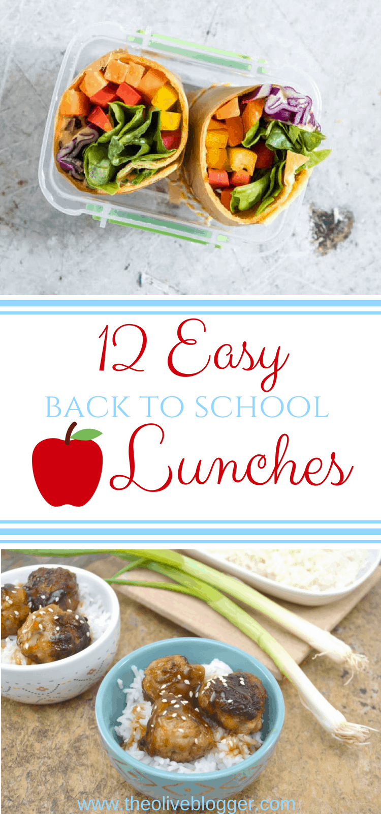 Lunches don't have to be boring anymore! These easy to make lunch ideas are full of flavor, guaranteeing everyone will love them. #EasyLunchIdeas #BacktoSchoolLunches #LunchRecipes #BacktoSchool