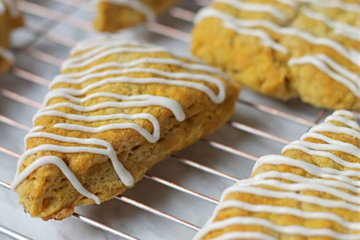 Cooling rack with fresh baked Pumpkin Spice Sonces