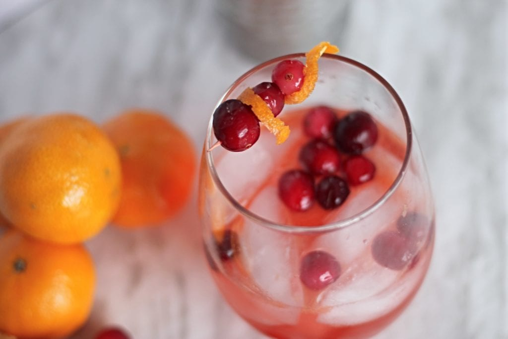 Clementine Cranberry Cocktail