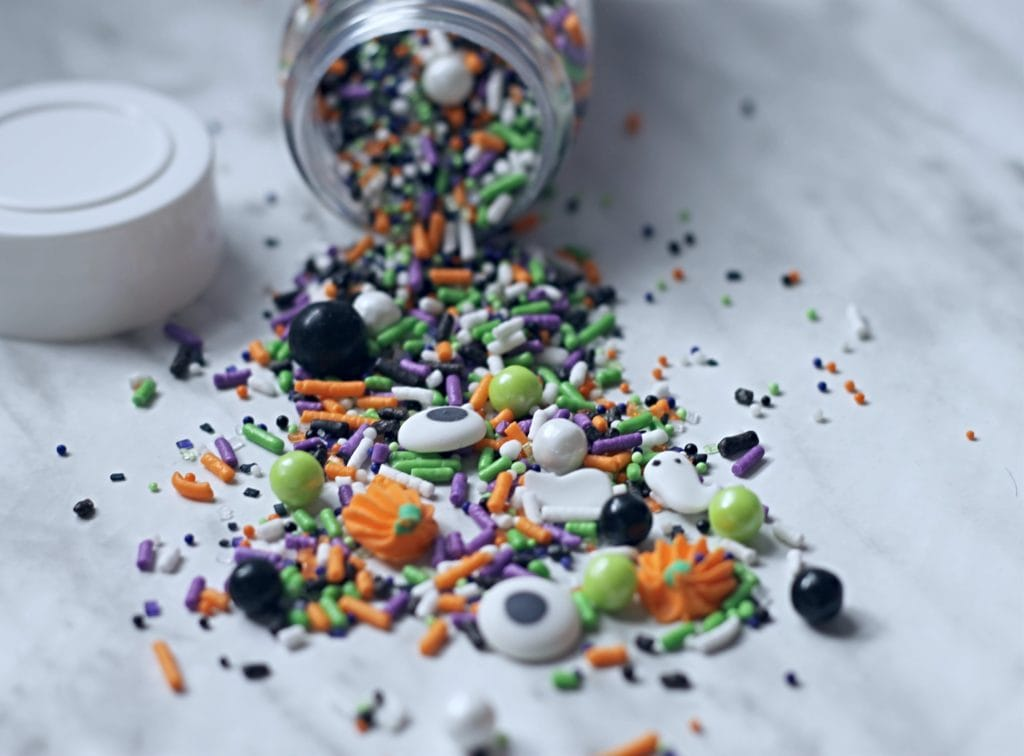 Halloween Chocolate Bark Sprinkles
