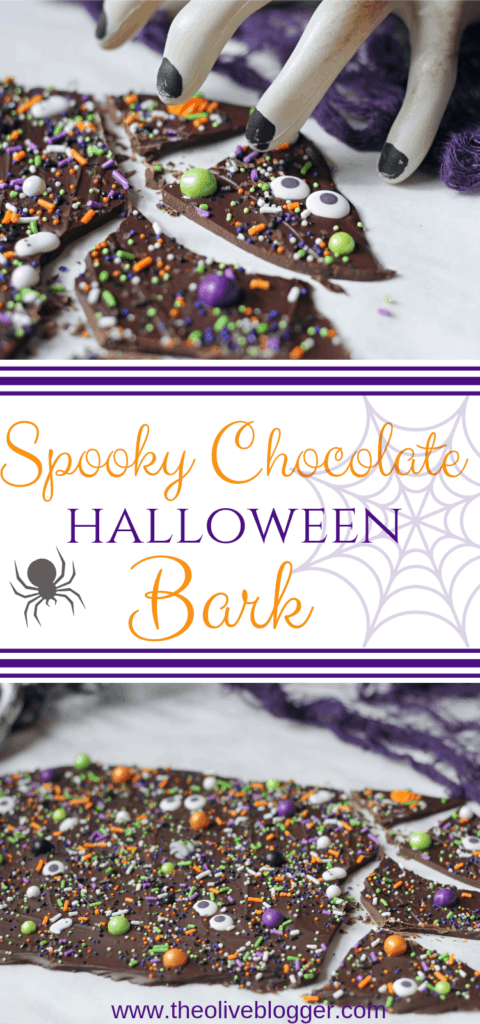 Spooky Halloween Chocolate Bark Recipe