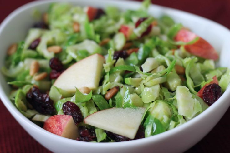 Gorgeous Brussel Sprout Salad