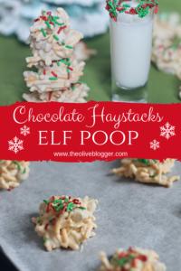 White Chocolate Haystack Cookies