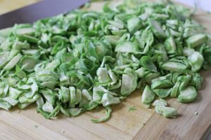 Shredded Brussel Sprouts for Salad