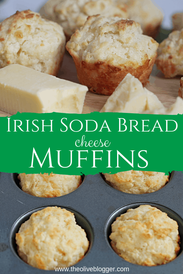Pinnable image of Soda Bread Muffins