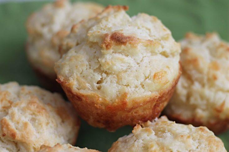Soda Bread Muffins with Cheddar