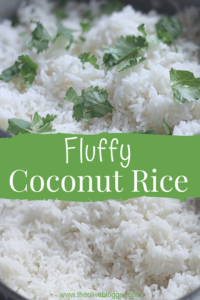 Fluffy Coconut Rice