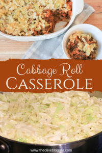 Cabbage Roll Casserole - easy and delicious