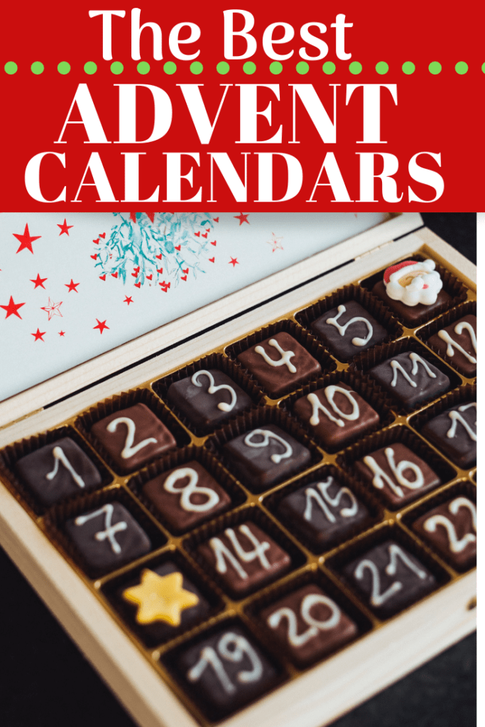 Square Chocolates in Advent Calendar Box