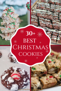 Christmas cookies, bars and more to make for the Holiday Season