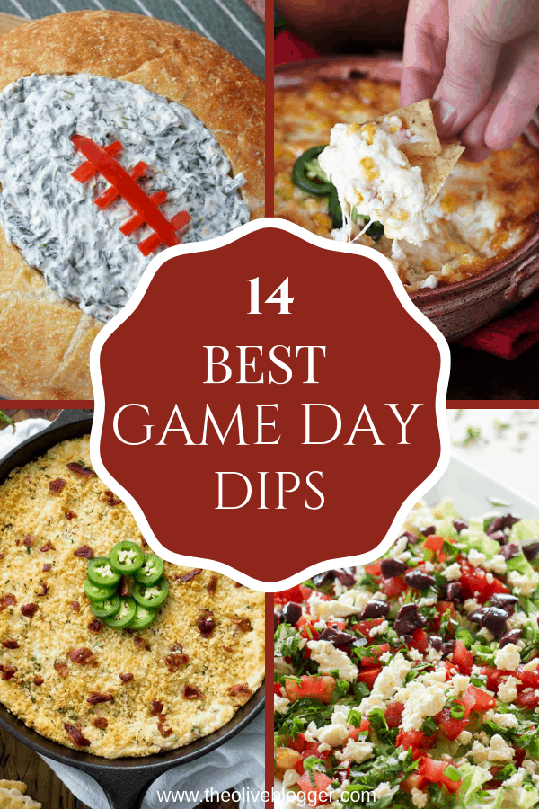 Game Day Dips everyone will LOVE